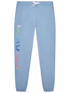 Polo Ralph Lauren Polo Ralph Lauren Teplákové nohavice 312841396001 Modrá Regular Fit