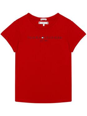 TOMMY HILFIGER TOMMY HILFIGER T-shirt Essential Tee KG0KG05512 D Rosso Regular Fit