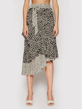 Maaji Maaji Trapez suknja 1757CKL600 Crna Regular Fit