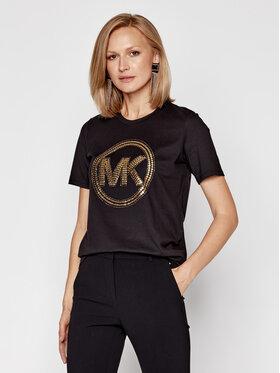 MICHAEL Michael Kors MICHAEL Michael Kors T-Shirt MF05MRA97J Czarny Regular Fit