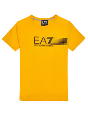EA7 Emporio Armani EA7 Emporio Armani T-Shirt 3KBT54 BJ02Z 1604 Žlutá Regular Fit