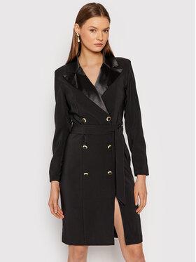 Rinascimento Rinascimento Коктейлна рокля CFC0018042002 Черен Slim Fit