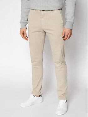 Joop! Jeans Joop! Jeans Bavlnené nohavice 15 Jjf-19Steen-D 30023721 Béžová Slim Fit
