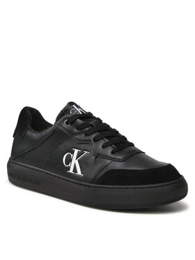 Calvin Klein Jeans Calvin Klein Jeans Sneakersy Cupsole Laceup Casual Warm YM0YM00283 Černá