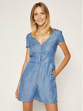 Guess Guess Ολόσωμη φόρμα Dinah Romper W0GK2J D3ZW3 Μπλε Slim Fit