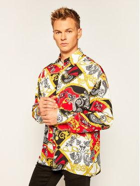 Versace Jeans Couture Versace Jeans Couture Koszula B1GZA604 Kolorowy Oversize