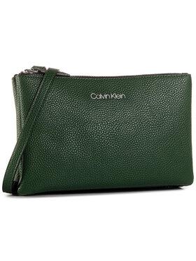Calvin Klein Calvin Klein Rankinė Ck Everyday Duo Crossbody K60K606768 Žalia