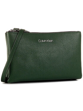 Calvin Klein Calvin Klein Τσάντα Ck Everyday Duo Crossbody K60K606768 Πράσινο