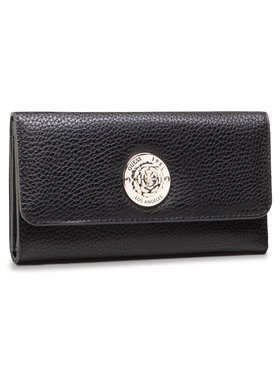 Guess Guess Veľká dámska peňaženka Belle Isle (VG) SLG SWVG77 44650 Čierna