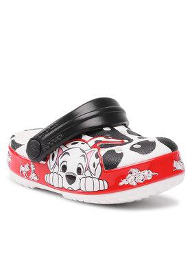 Crocs Crocs Чехли Crocs Fl 101 Dalmatians Clog K 207193 Бял