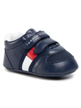 TOMMY HILFIGER TOMMY HILFIGER Сникърси Velcro Shoe T0B4-30191-0271 Тъмносин
