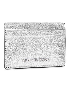 MICHAEL Michael Kors MICHAEL Michael Kors Etui na karty kredytowe Jet Set 34H9SJ6D5L Srebrny