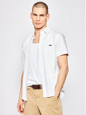 Levi's® Levi's® Camicia Battery Housemark 86623-0000 Bianco Slim Fit