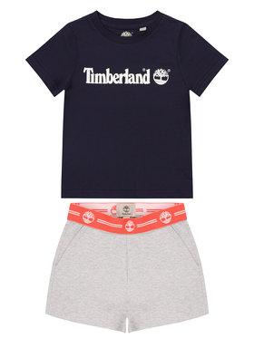 Timberland Timberland Ensemble t-shirt et short T27087 S Multicolore Regular Fit