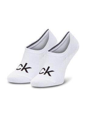 Calvin Klein Calvin Klein Skarpety Stopki Damskie 100001788 Biały
