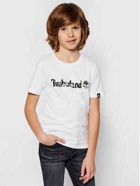 Timberland Timberland T-Shirt T45818 Weiß Regular Fit