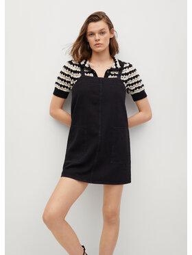 Mango Mango Sukienka jeansowa Lexia 17092001 Czarny Regular Fit