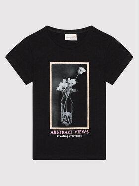 Coccodrillo Coccodrillo T-shirt ZC1143216EVG Noir Regular Fit