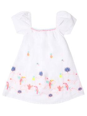 Billieblush Billieblush Každodenní šaty U12573 Bílá Regular Fit