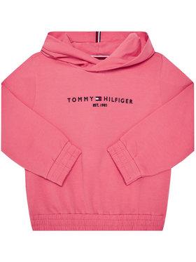 TOMMY HILFIGER TOMMY HILFIGER Bluză Essential Hooded KG0KG05216 D Roz Regular Fit