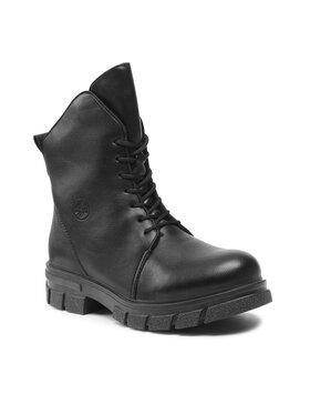 Rieker Rieker Turistická obuv Z9104-00 Černá