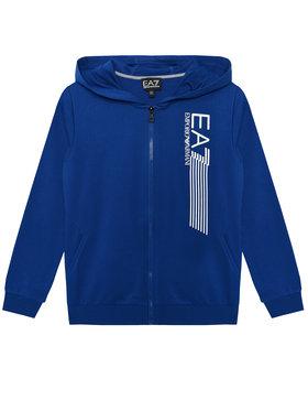 EA7 Emporio Armani EA7 Emporio Armani Mikina 3KBM56 BJ05Z 1570 Modrá Regular Fit