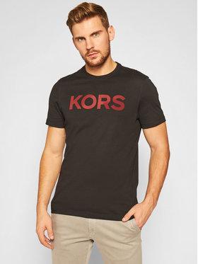 MICHAEL Michael Kors MICHAEL Michael Kors T-Shirt Logo CF05JW6FV4 Czarny Regular Fit