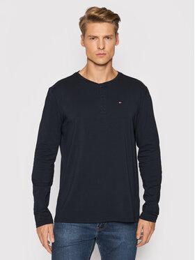 Tommy Hilfiger Tommy Hilfiger Тениска с дълъг ръкав Henley UM0UM02381 Тъмносин Regular Fit