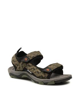 Bergson Bergson Sandały Benue Hiking Sandals Zielony