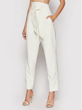 Custommade Custommade Текстилни панталони Pinja 999425507 Бежов Regular Fit