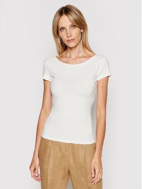 MAX&Co. MAX&Co. Blusa Danzante 69419821 Bianco Slim Fit