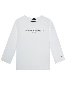 TOMMY HILFIGER TOMMY HILFIGER Bluză Essential KB0KB06105 M Alb Regular Fit