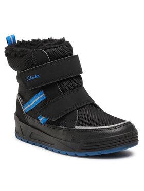 Clarks Clarks Cizme de zăpadă Jumper Jump K 261535797 Negru