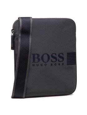 Boss Boss Мъжка чантичка Pixel 50446471 10225873 01 Сив