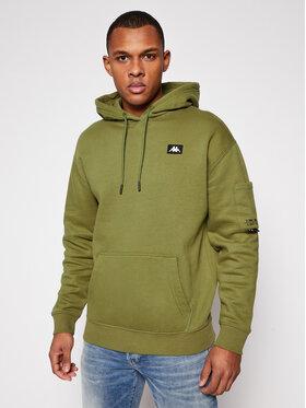 Kappa Kappa Sweatshirt Hilman 308051 Grün Regular Fit