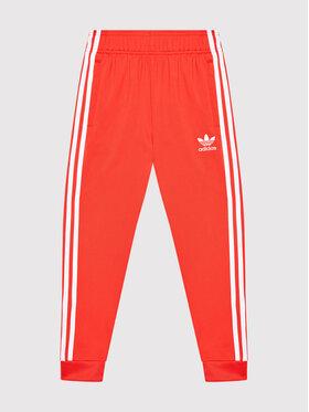 adidas adidas Spodnie dresowe adicolor Sst Track H37871 Czerwony Regular Fit