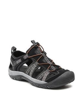 Bergson Bergson Sandále Sobat Čierna
