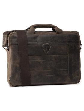 Strellson Strellson Чанта за лаптоп Hunter 4010002639 Кафяв