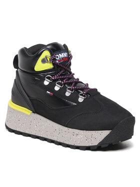 Tommy Jeans Tommy Jeans Sneakersy Hybrid Platform Boot EN0EN01589 Czarny