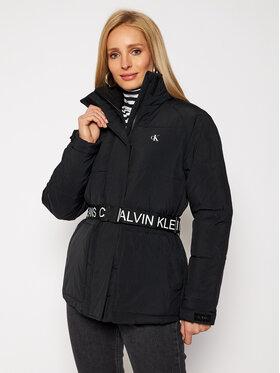 Calvin Klein Jeans Calvin Klein Jeans Kurtka zimowa J20J214854 Czarny Regular Fit