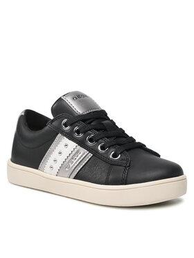 Geox Geox Sneakersy J Kathe G. F J16EUF 00085 C9999 M Czarny
