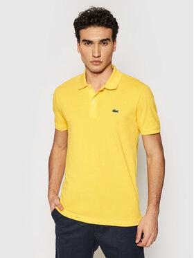 Lacoste Lacoste Polo marškinėliai PH4012 Geltona Slim Fit