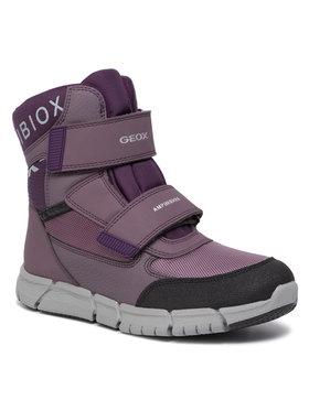 Geox Geox Śniegowce B Flexyper G.B Abx A J94APA 0FU54 C8UG8 D Fioletowy
