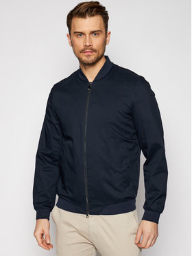 Geox Geox Bomber striukė Eolo M1221 T2837 F4386 Tamsiai mėlyna Slim Fit