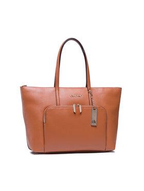 Calvin Klein Calvin Klein Torbica Shopper Lg Saffiano K60K608554 Smeđa