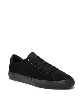 Emerica Emerica Πάνινα παπούτσια Omen Lo 6101000139 Μαύρο