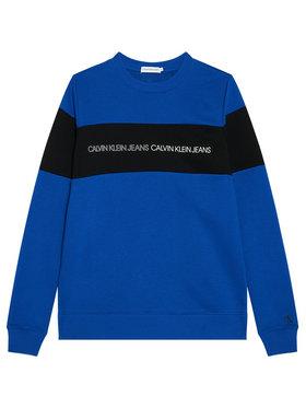 Calvin Klein Jeans Calvin Klein Jeans Sweatshirt Colour Block Logo IB0IB00812 Dunkelblau Regular Fit
