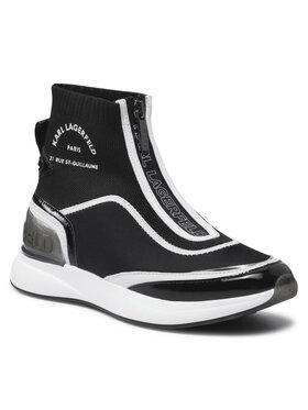 KARL LAGERFELD KARL LAGERFELD Sneakersy KL62151 Černá