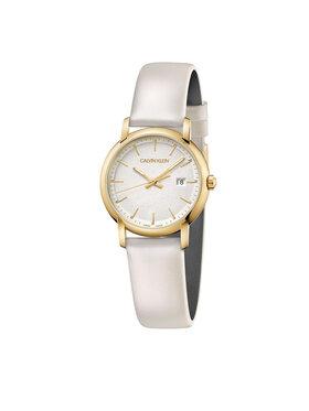 Calvin Klein Calvin Klein Часовник Lady K9H235L6 Бял