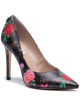 Guess Guess Pantofi cu toc subțire Gavi4 FL5GV5 FAL08 Negru